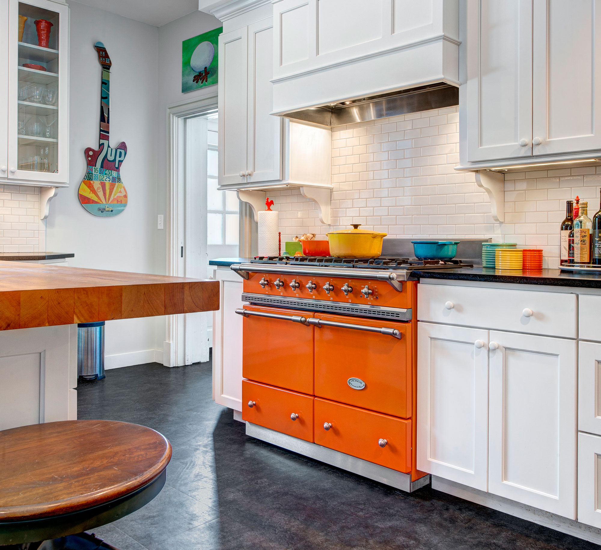 Image Result For Red Kitchens With