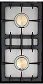 Lacanche (2) 11,000 BTU burners