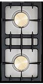 Lacanche (2) 15,000 BTU burners