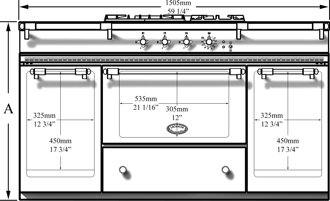 Fontenay front dimensions