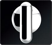 Chrome knob