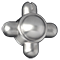 Stainless Steel Knob