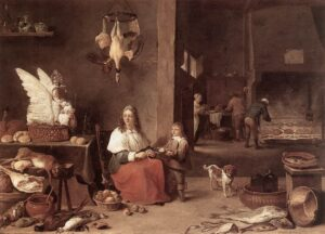 kitchen-scene-david-teniers-the-younger-1644