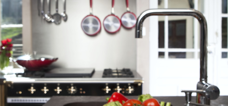 Black Brass Lacanche Chambertin French stove