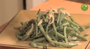 Green Beans with Shallots and Cream