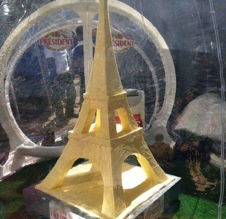 eiffel tower taste of france