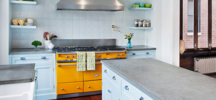 Lacanche Cluny 1400 Provence Yellow