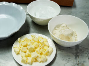 butter flour mix for pie crust