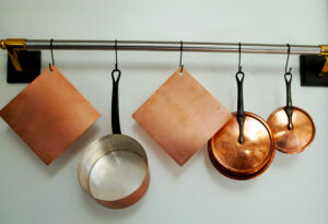 copper diffuser on rack