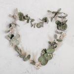 a heart wreath
